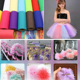 "9"" x 100 Yard Red Tulle Rolls Wholesale"