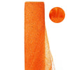 "54""x15 Yards Orange Sheer Sequin Tulle Fabric Bolt"
