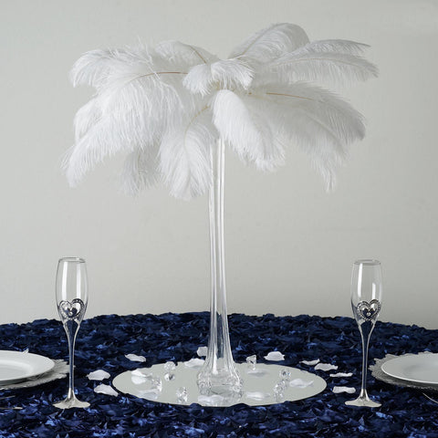12 Pack 20 Clear Eiffel Tower Glass Flower Vase Table Centerpiece