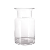 "2 Pack | 9"" Flared Neck Glass Vases 