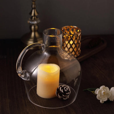 "10"" Vessel Jar Glass Vases 