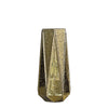 "2 Pack | 8"" Gold Mercury Glass Vases 