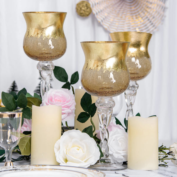 Tray with Napkin Rings, Rose Gold Tray, Gold Decorative Centerpiece for Home Decor and Weddings Deco-Mate Lucite Flower Box for Bud Vase Napkin Rings