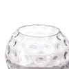 "2 Pack | 8"" Hobnail Glass Vases 