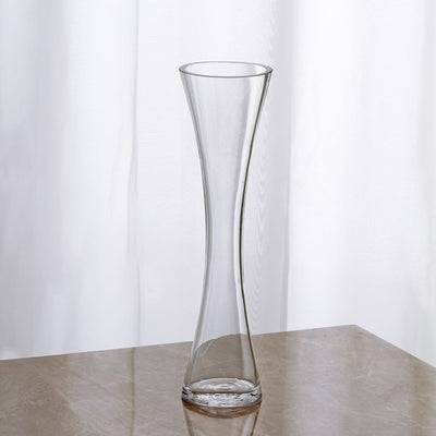 "12 Pack | 12"" Heavy Duty Hour Glass Vase"