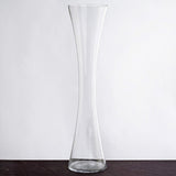 "6 Pack | 24"" Heavy Duty Hour Glass Vase"