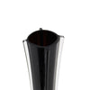 "6 Pack | 28"" Black Glass Flower Eiffel Tower Vases"