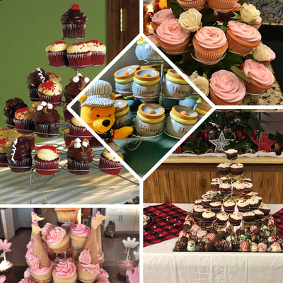 5-Tier Cupcake Tower Stand