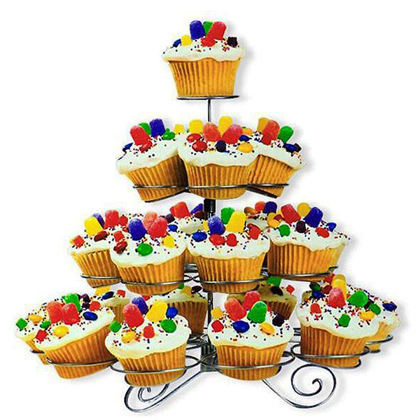 4-Tier Cupcake Tower Stand - Clearance SALE