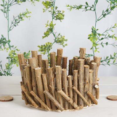 Wooden Candle Holders, Rustic Candle Holders