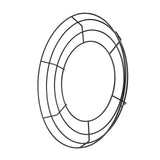 14inch Black Metal Wire Wreath Frame, Wreath Ring
