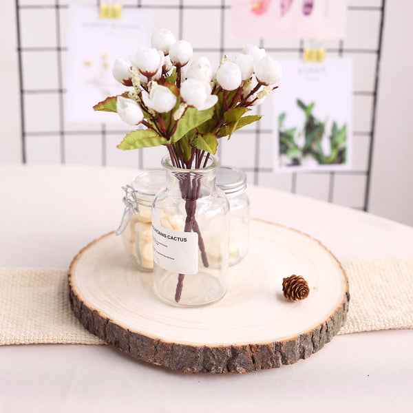 Table Mirrors Wooden Slices Tablecloths Factory