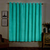 Teal Velvet Blackout Curtains | Pack of 2 | 52 x 84 Inch Grommet Curtains | Grommet Velvet Curtains