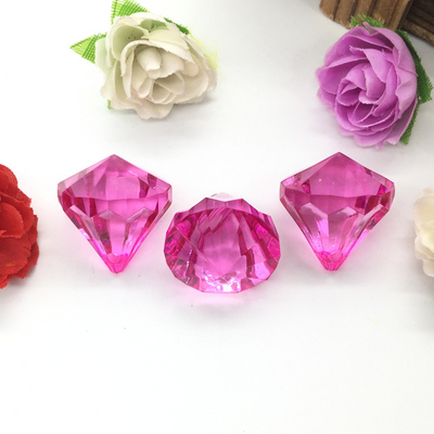 Chandelier Raindrop Crystals | 240 PCS | 20MM | Pink | Acrylic Teardrop Crystals