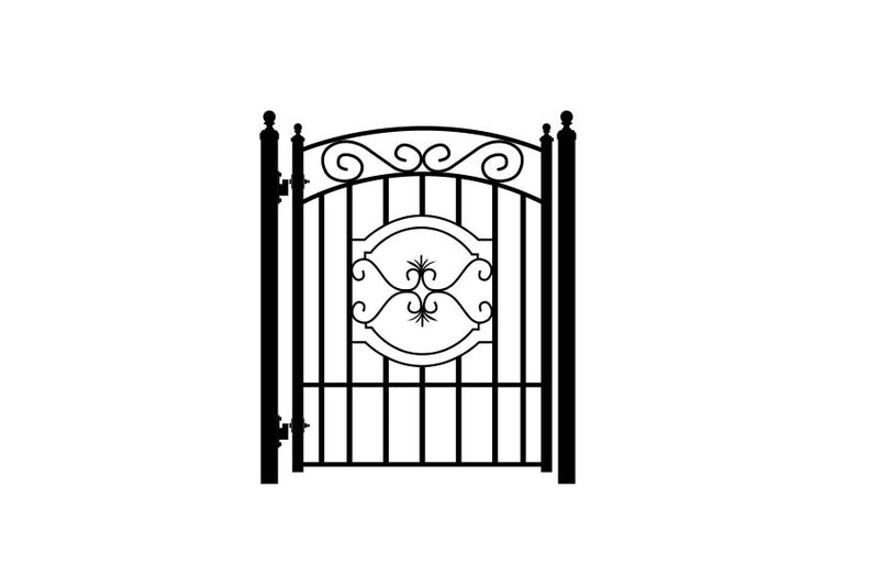 Garden Gates - Chateau - Red Stag Gates & Fences