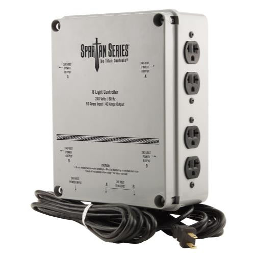 Titan Controls - Spartan Series 8 Light Controller - 240 Volt