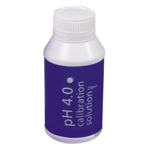 Bluelab pH 4.0 Calibration Solution 250 ml (6/Cs)
