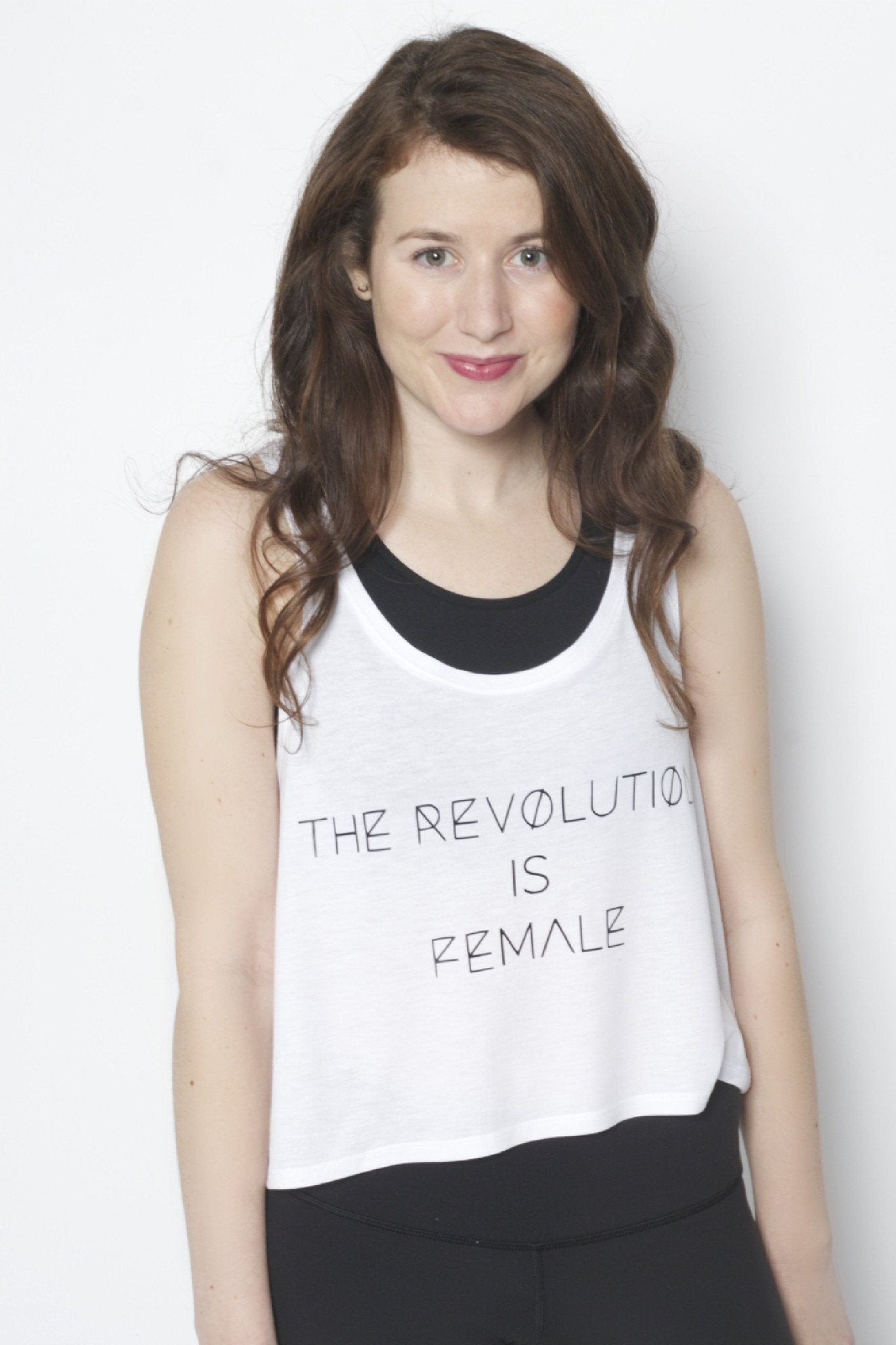 The Revolution is Female Flowy Tank