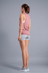 Perspective Muscle Tank - Vibrate Higher; mauve