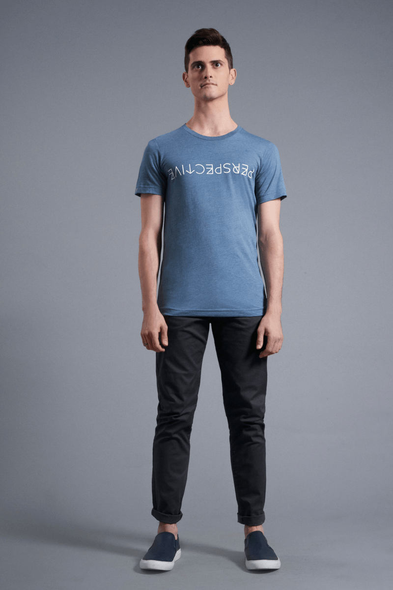 Perspective T-Shirt - Vibrate Higher; slate