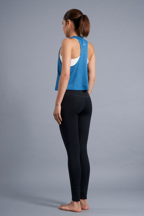 Perspective Racerback Tank - Vibrate Higher; Teal