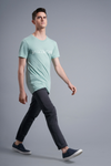 Perspective T-Shirt - Vibrate Higher; Dusty Blue