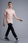 Vibrate Higher T-Shirt - Vibrate Higher; Peach