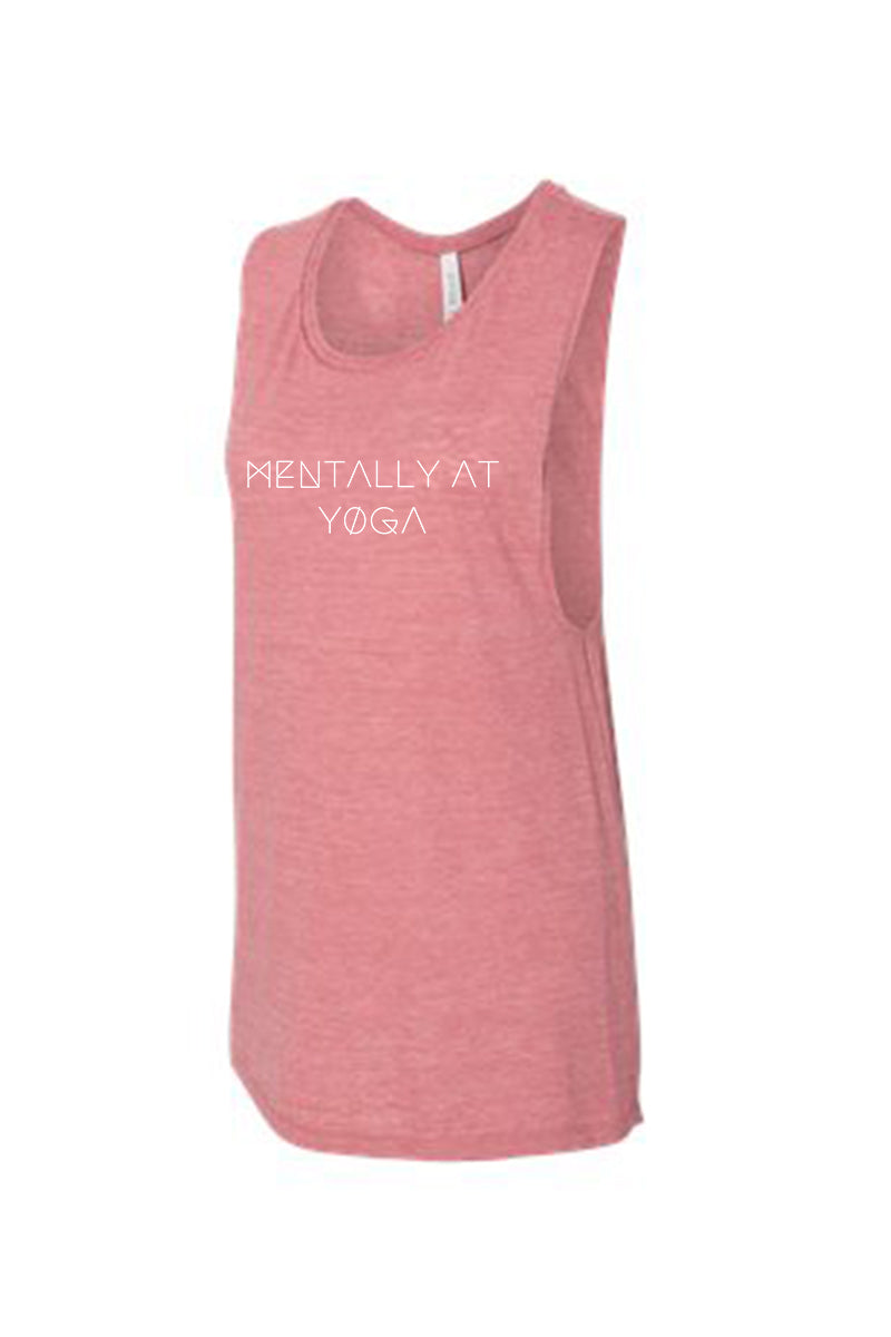 Mentally at Yoga Muscle Tank