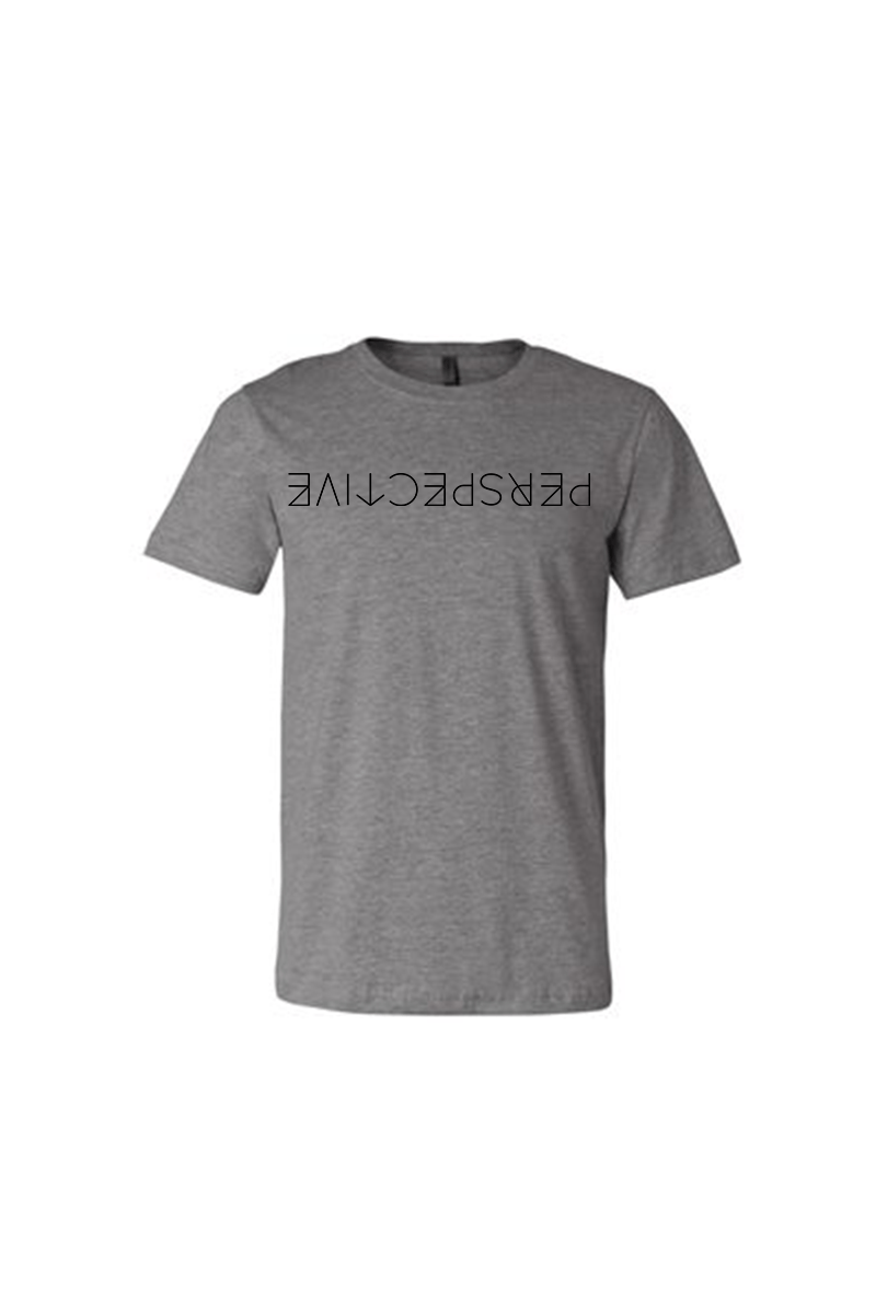 Perspective T-Shirt - Vibrate Higher; athletic heather gray