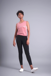 Calm is a Super Power Muscle Tank - Vibrate Higher; Mauve