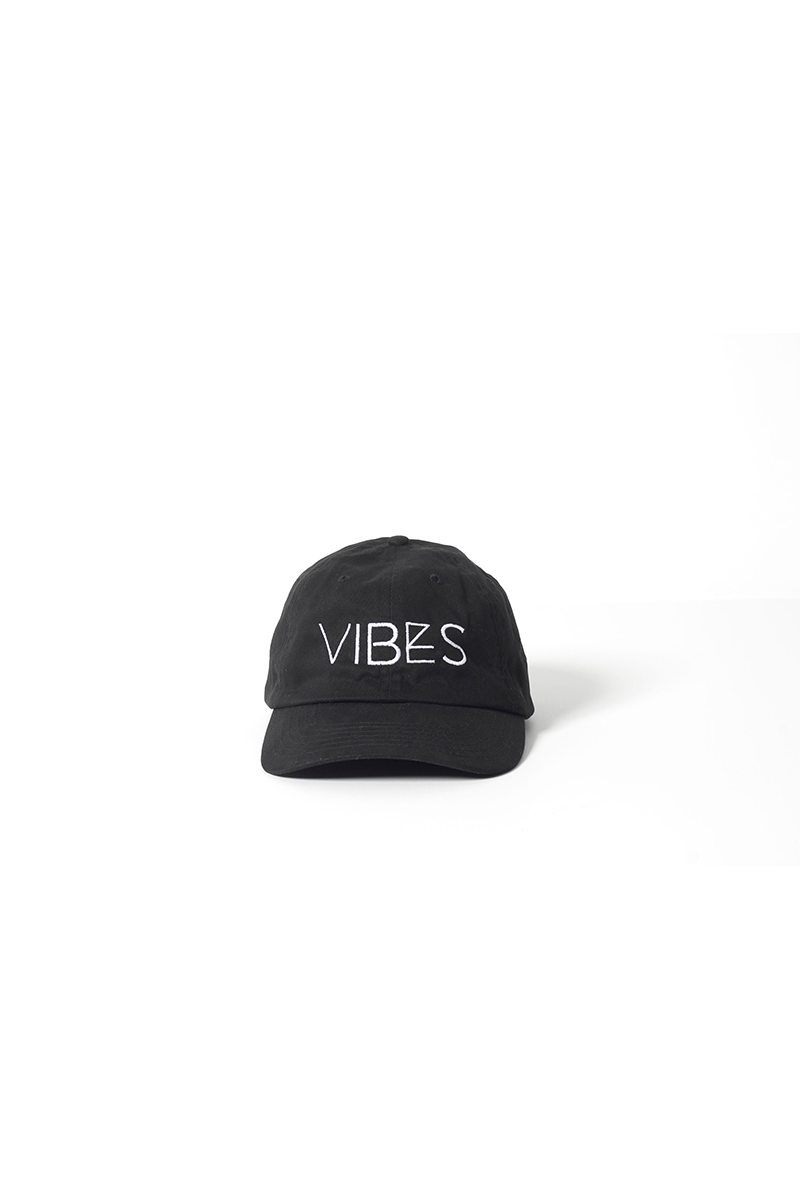 Vibes Dad Hat - Vibrate Higher; black