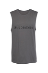 Perspective Muscle Tank - Vibrate Higher; heather gray