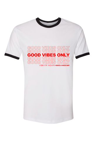 Good Vibes Club Gray Cropped Crewneck