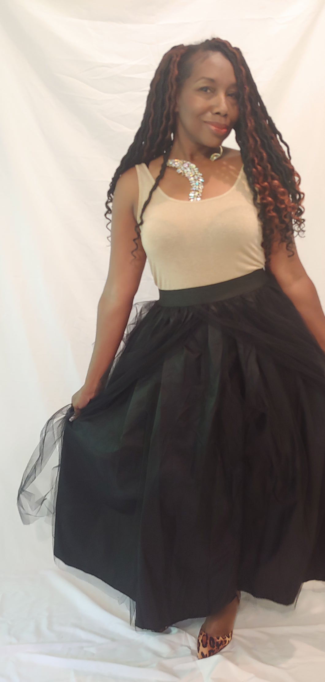 Maudie Layers Tulle Skirt