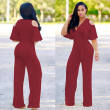 Leah-Opt-out Sleeve Jumpsuit