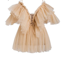 Pleated Ruffle Off Shoulder