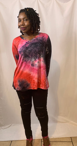 Andrea-Burst of Color Top