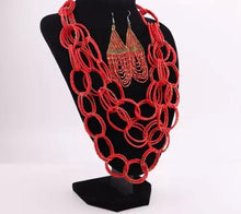 Rhapsody Red Chain necklace