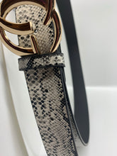 Women's Inspired Reptile print belt