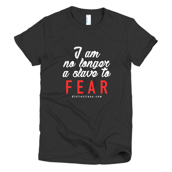 No Longer a Slave - Short sleeve women's t-shirt