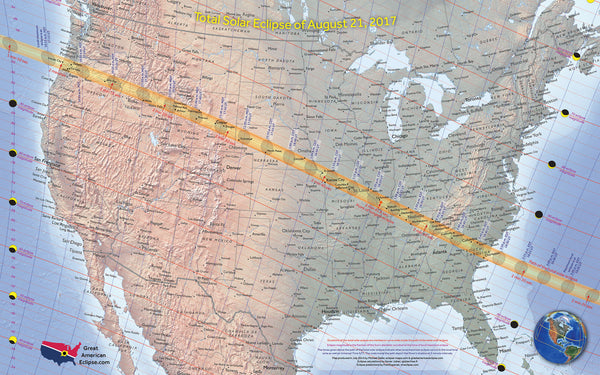Best Places to See The 2017 Total Solar Eclipse