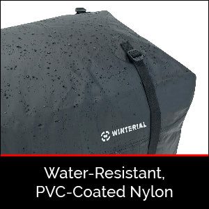 Water-Resistant, PVC-Coated Nylon