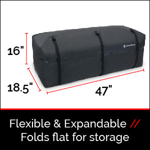 Flexable & Expandable, Folds flat for storage