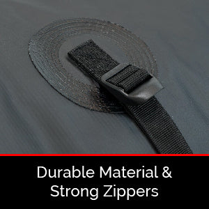 Durable Material & Strong Zippers