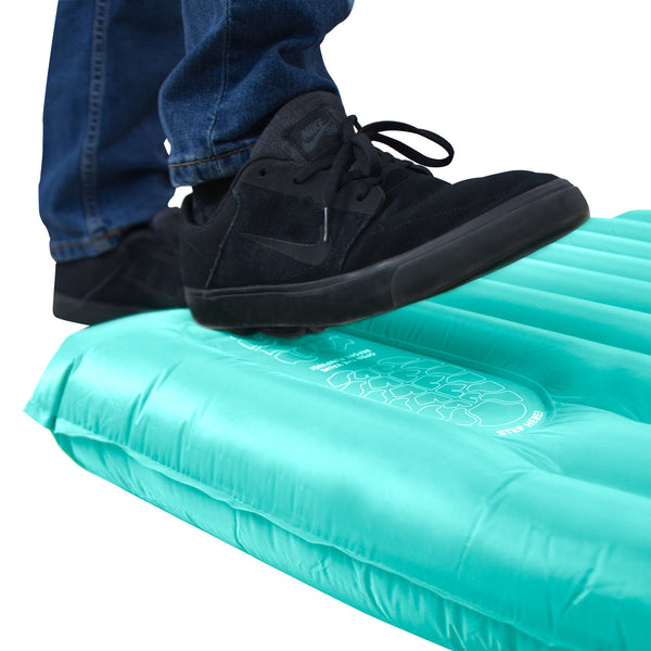 Self-Inflating Sleeping Pad NEW Winterial Lightweight Camping Mat Red