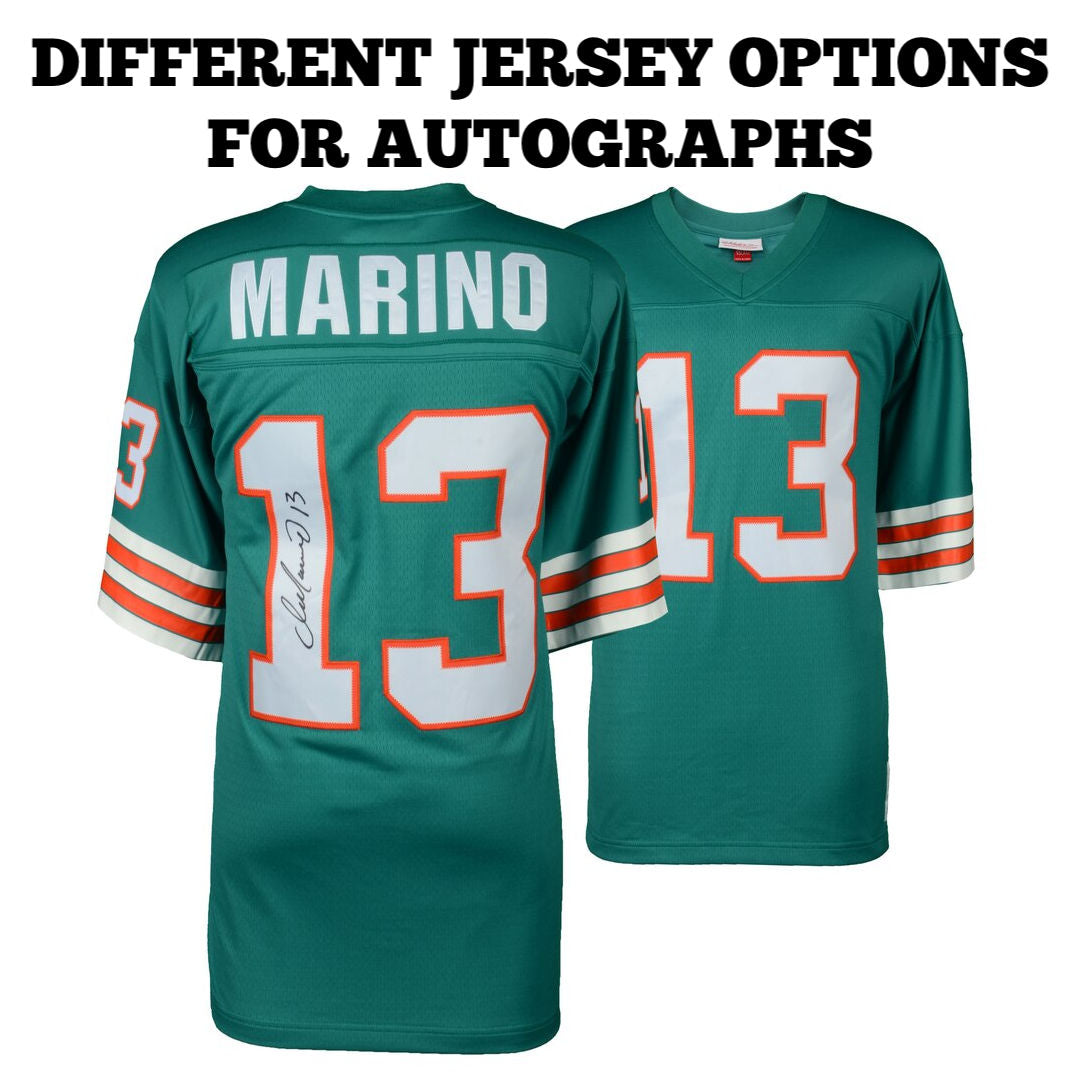 Autographed NFL Jerseys - Which Style Jersey Should You Get?  Nike?  Mitchell & Ness?