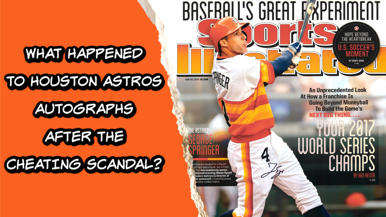 How Did the Houston Astros Cheating Scandal Affect Their Autograph Market?