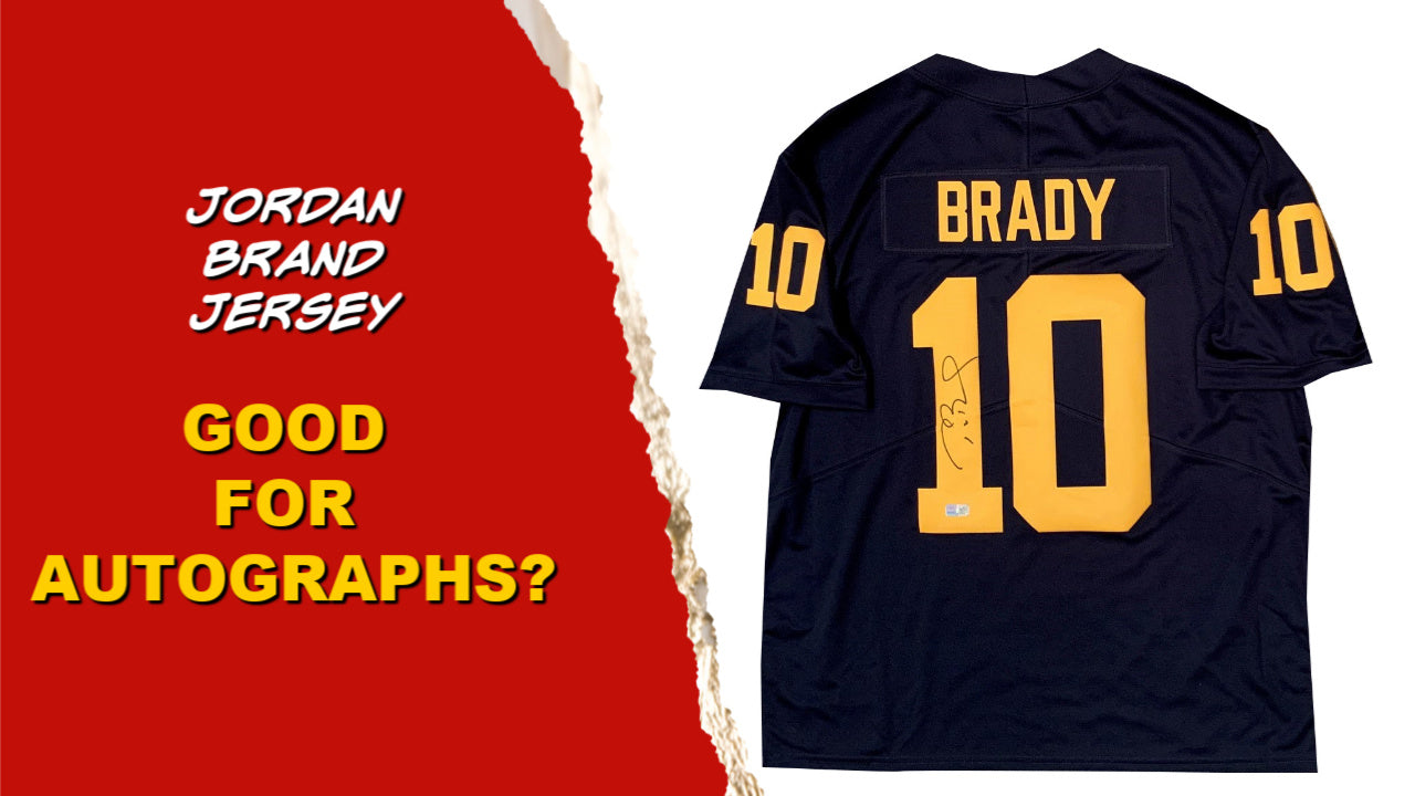 Jordan Brand Football Jerseys - Good for Autographs?