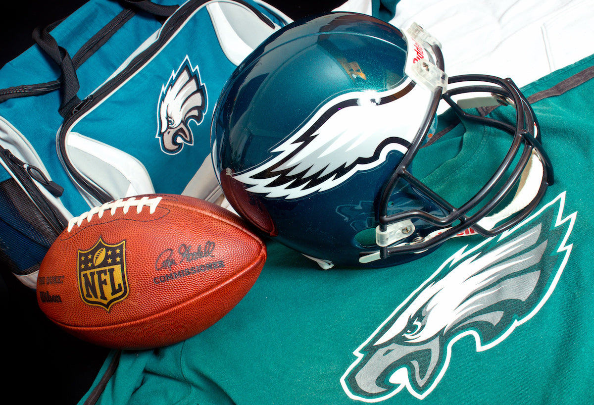 The Story of a Die-Hard Philadelphia Eagles Fan and His Memorabilia Collection