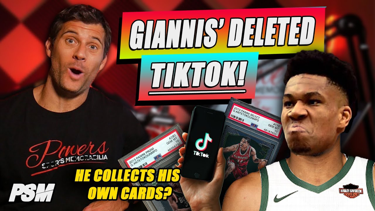Giannis Antetokounmpo Collects Own Basketball Cards?  What Does This Mean for the Hobby?